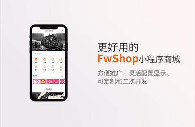 FwShop小程序商城演示版案例图片